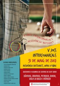 Cartell V Jocs Intercomarcals residència Natzaret
