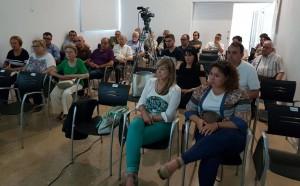 La presentació de l'estudi del franquisme a la comarca de la Ribera, a l'arxiu comarcal.