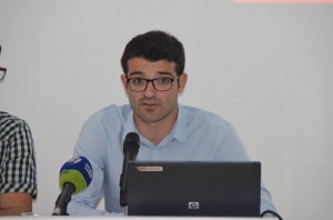 El jove historiador Jordi Cid, autor del treball gràcies a un contracte del Garantia Juvenil.