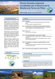 2n Fòrum empreses Reserva Biosfera Terres de l'Ebre