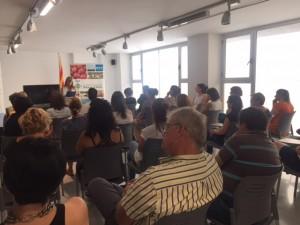 Acte institucional al Consell Comarcal de la Ribera d'Ebre amb motiu del Dia Internacional de l'Orgull LGTBI.