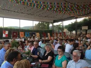 Representants de 13 pobles es van reunir a la pista de Garcia.