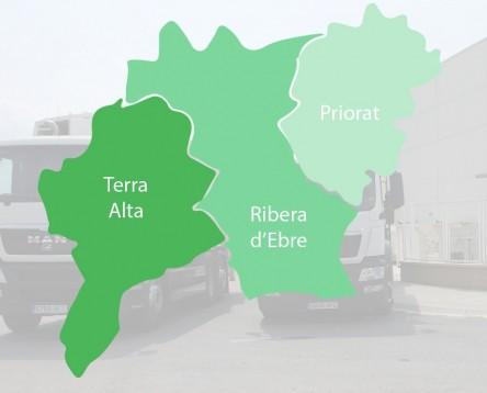 Imatge de la noticia El Consorci de Residus de la Ribera d'Ebre, Terra Alta i el Priorat adjudica el nou servei de recollida de la brossa