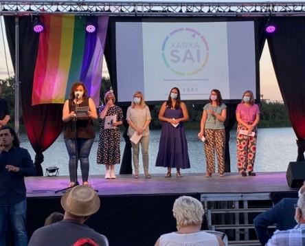 Imatge de la noticia El Consell Comarcal de la Ribera d'Ebre participa en la jornada LGTBI unitària a les Terres de l'Ebre