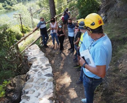 Imatge de la noticia El Consell Comarcal consolida el ferm de diversos trams del Camí de Sirga – GR99