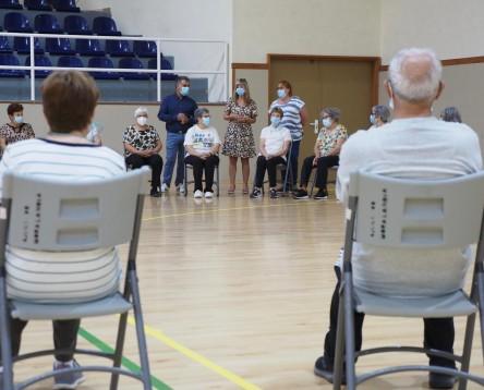 Imatge de la noticia El Consell de la Ribera d'Ebre dona el tret de sortia al programa de gimnàstica per a la gent gran